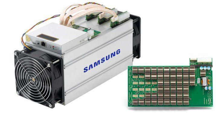 Samsung entra en el mercado de las criptomonedas fabricando chips «ASIC»