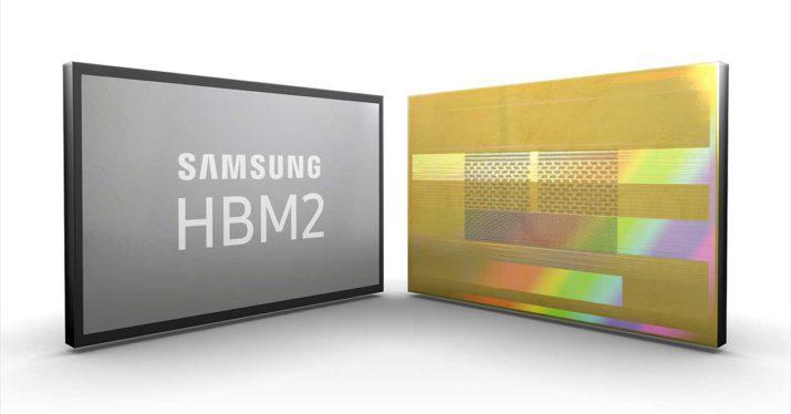 samsung memoria hbm2