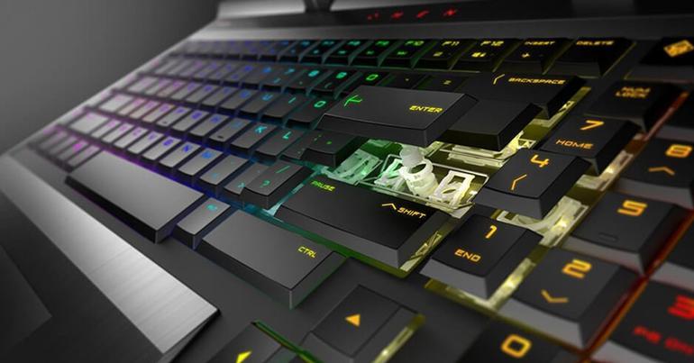 teclado mecanico portatil