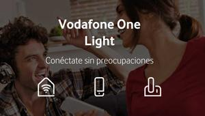 Vodafone One Light: oferta temporal de fibra y móvil barata
