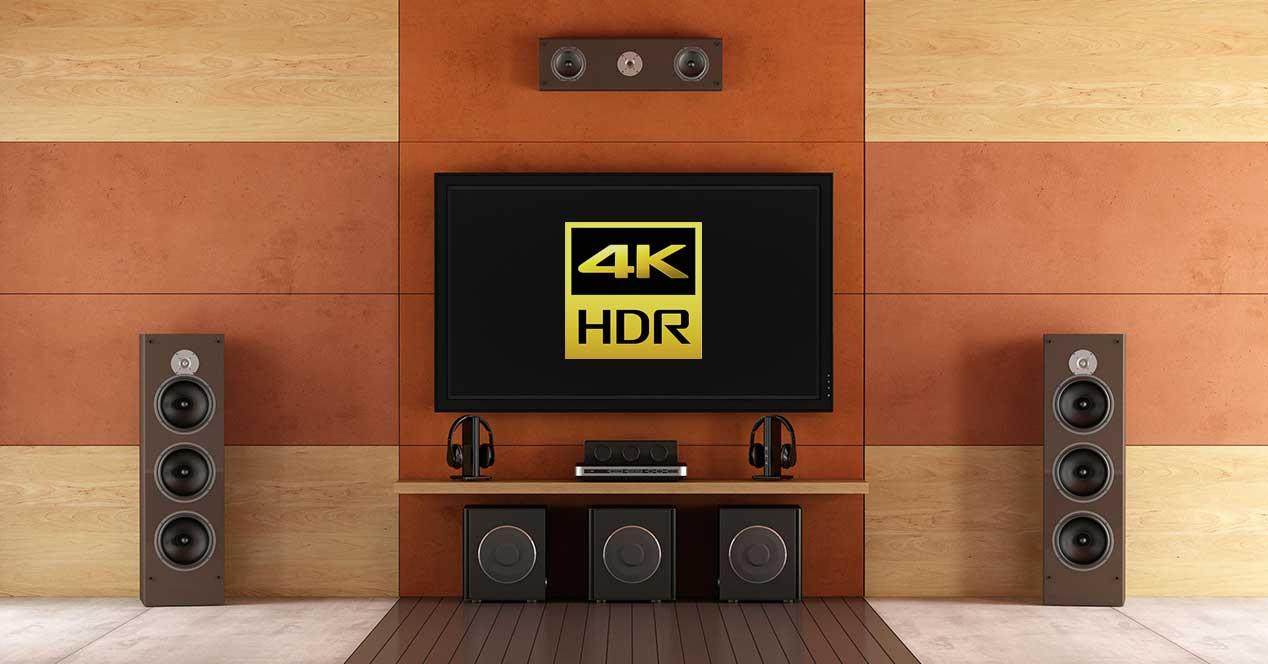 4k hdr home cinema barato