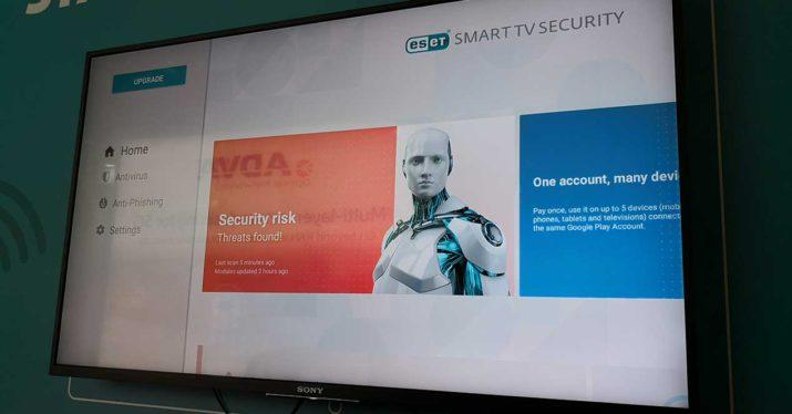 antivirus smart tv eset