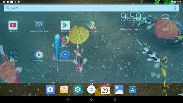 andex android oreo 8.1 para PC