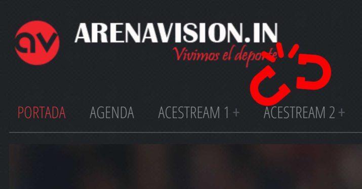 arenavision ddos caido