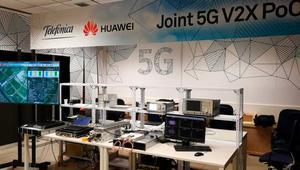 Movistar completa con éxito la primera prueba de conducción asistida por 5G