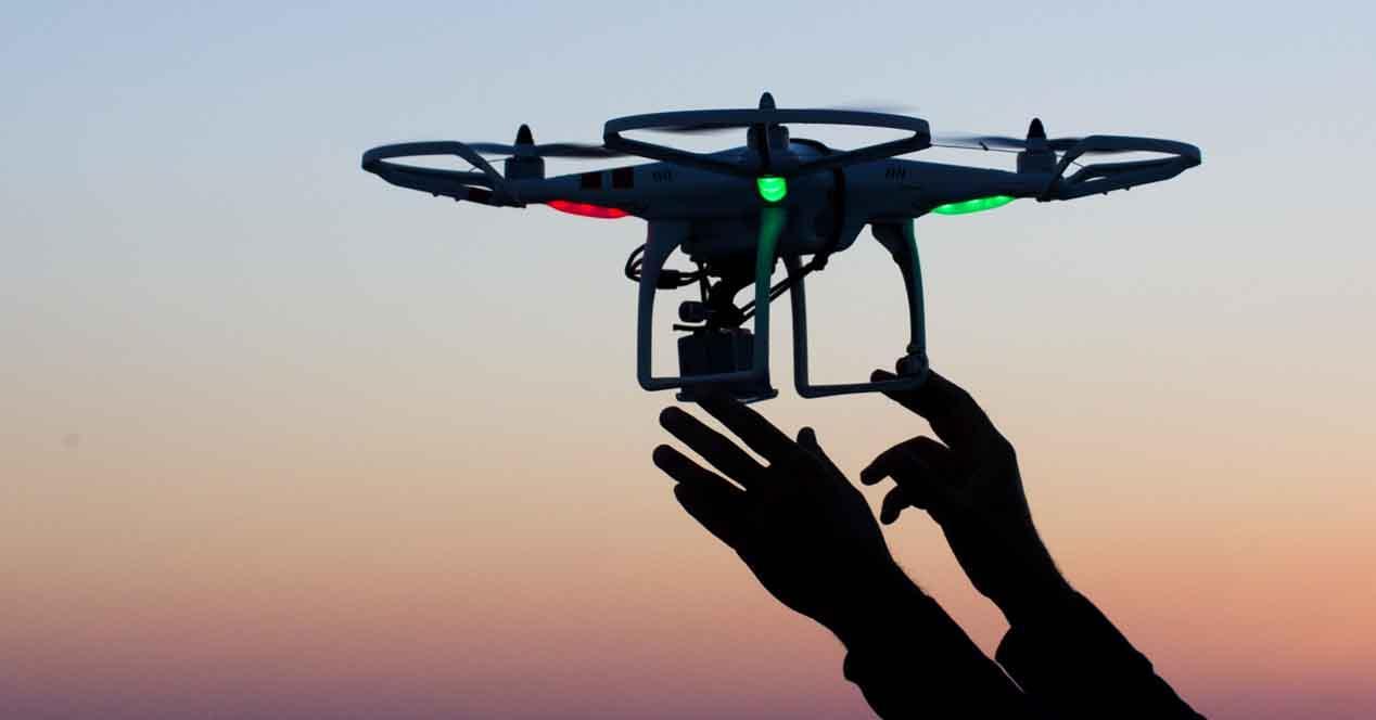Ver noticia 'Noticia 'La red 4G de Vodafone servirá para controlar el tráfico aéreo de drones''