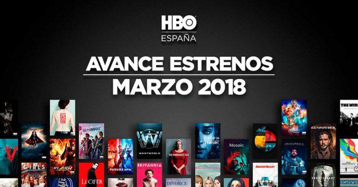 estrenos hbo marzo 2018