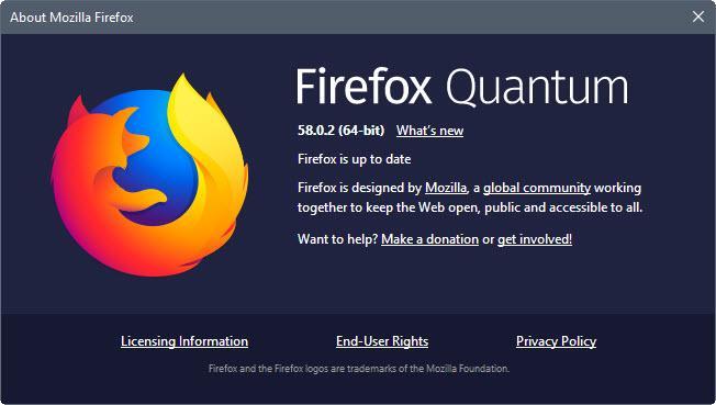 firefox 58.0.2