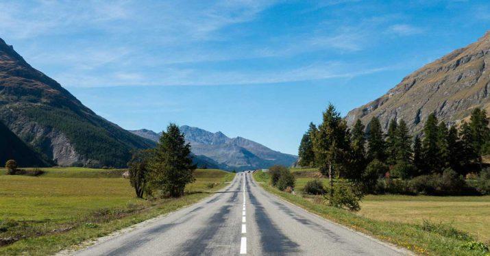 francia carretera montaña