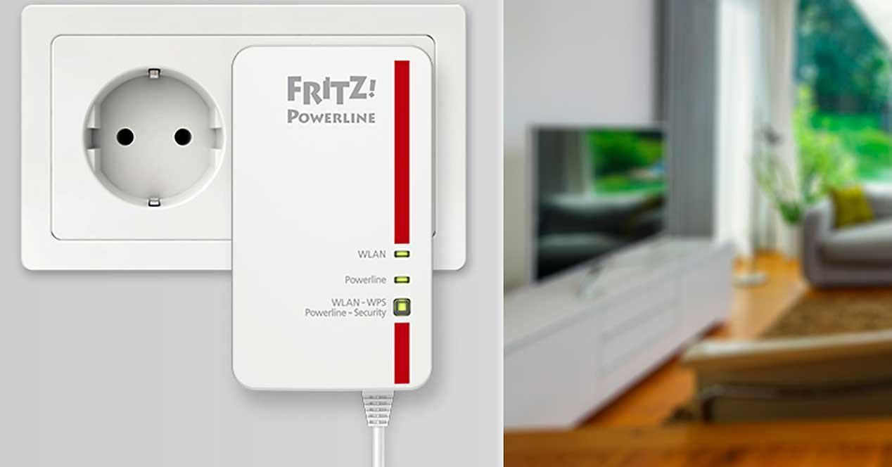 Fritz Powerline 1260e Mesh