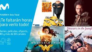 Nuevo Movistar Fusión+ Ocio Total, cine y series en el mismo paquete