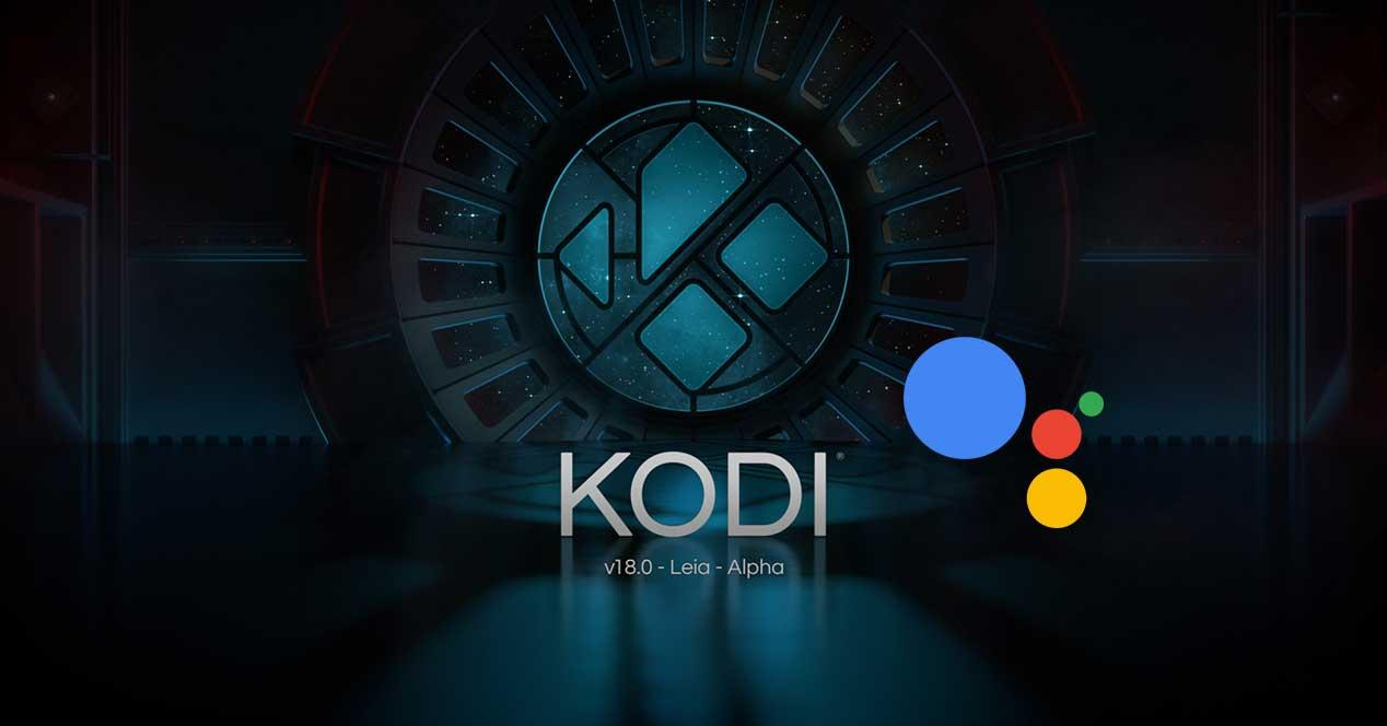 kodi 18 google assistant