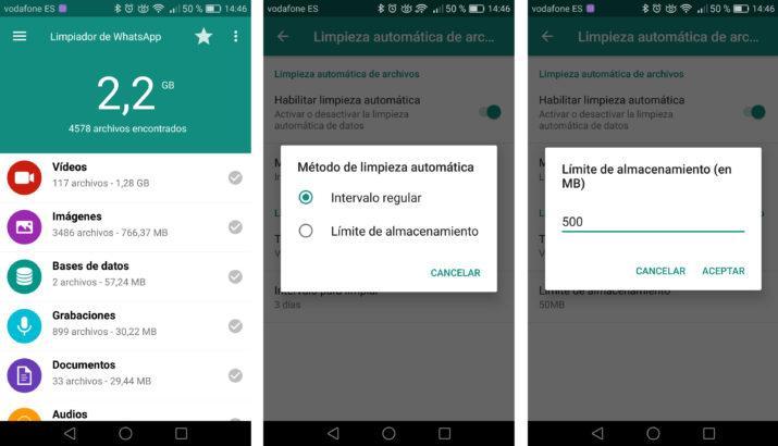 borrar archivos recibidos por whatsapp
