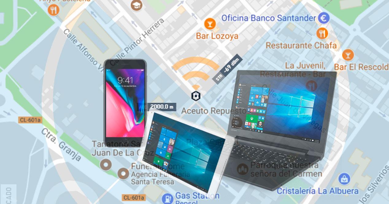 localizar dispositivo perdido o robado