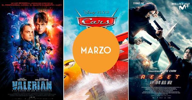 Estrenos Movistar+ marzo 2018