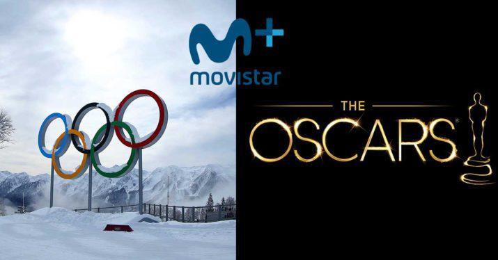 movistar+ juegos olimpicos oscars