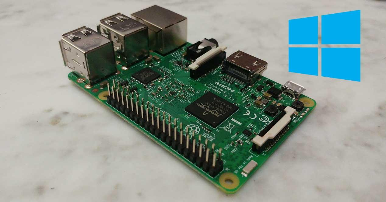 raspberry pi 3 windows