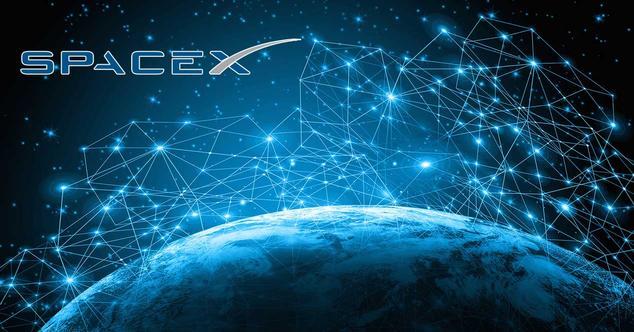 spacex starlink internet satelite