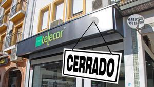 Telecor cierra todas sus tiendas el 28 de febrero