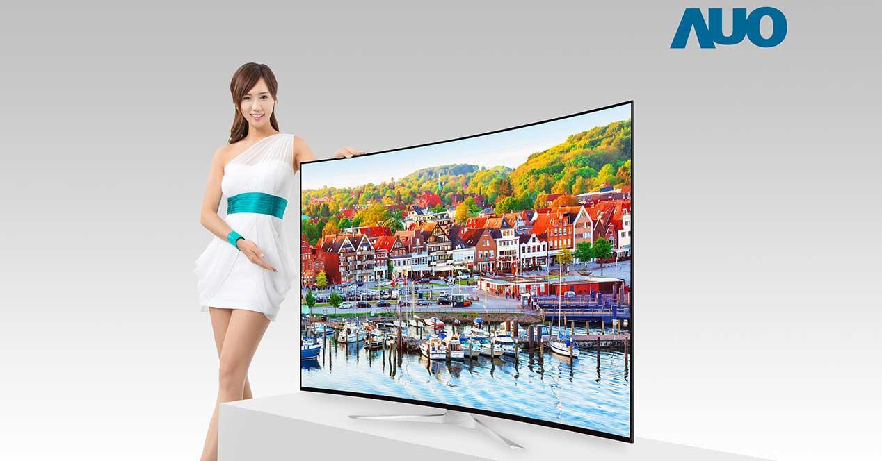 television 8k au optronics