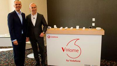 V-Home: Vodafone y Samsung quieren hacer tu hogar más inteligente para que puedas controlar todo desde el móvil
