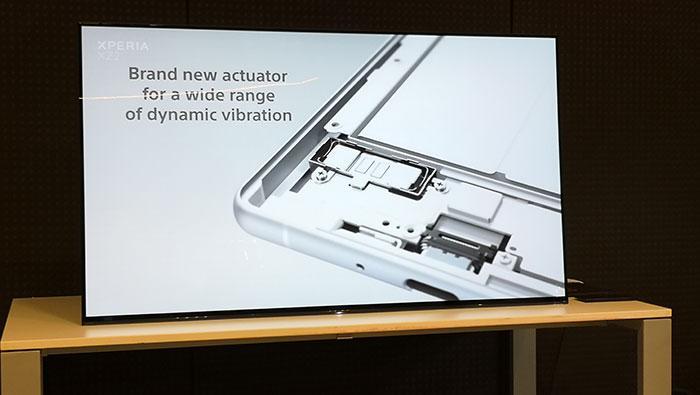 xperia xz2 dinamic vibration sistem