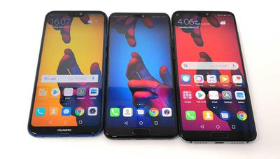 Comparativa: Huawei P20 frente a Galaxy S9, iPhone X, Xperia XZ2 y Xiaomi Mi Mix 2S