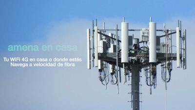 Amena baja el precio del router 4G en casa
