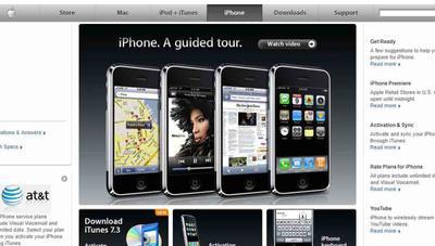 Volvemos a 2007: así vendía Apple el primer iPhone en su web