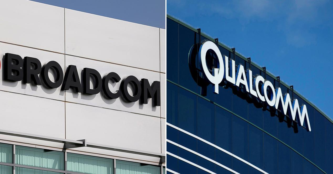 Intel Broadcom Qualcomm