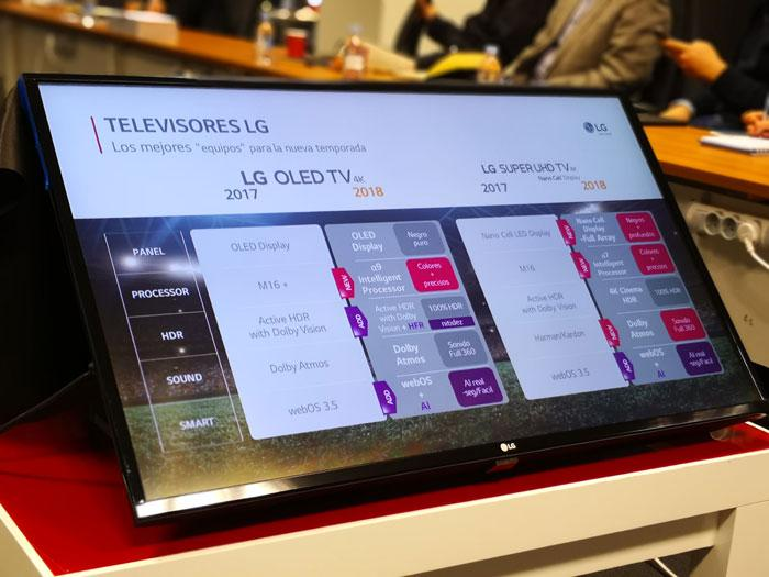 cambios smart tv lg