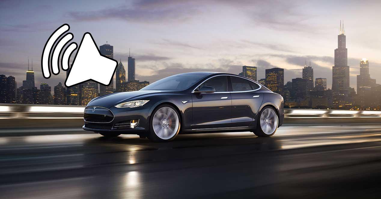 coches electricos altavoz sonido