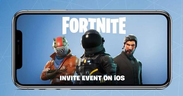 fornite ios movil