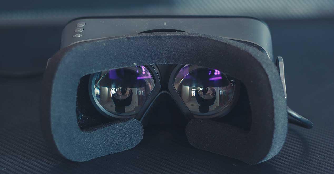 gafas realidad virtual lentes