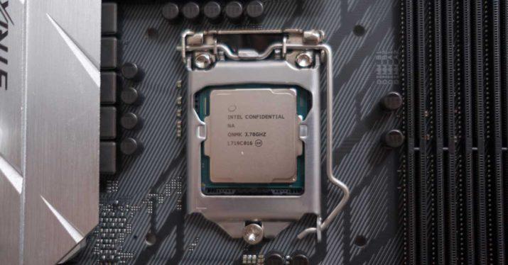 intel 8700k