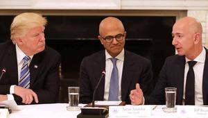Trump reabre su cruzada contra Amazon acusándoles del cierre de miles de negocios