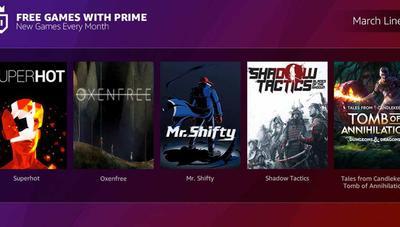 Amazon Prime contará con juegos gratis para PC cada mes