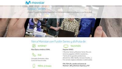 Movistar Fusión Series sube de precio y Fusión #0 cambia sus condiciones