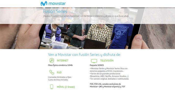movistar fusion series