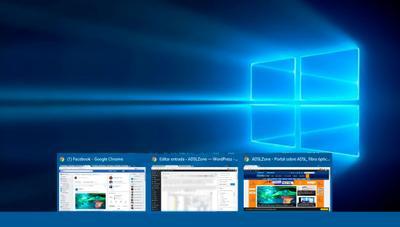 Cómo desactivar la vista previa de las aplicaciones abiertas en la barra de tareas en Windows 10
