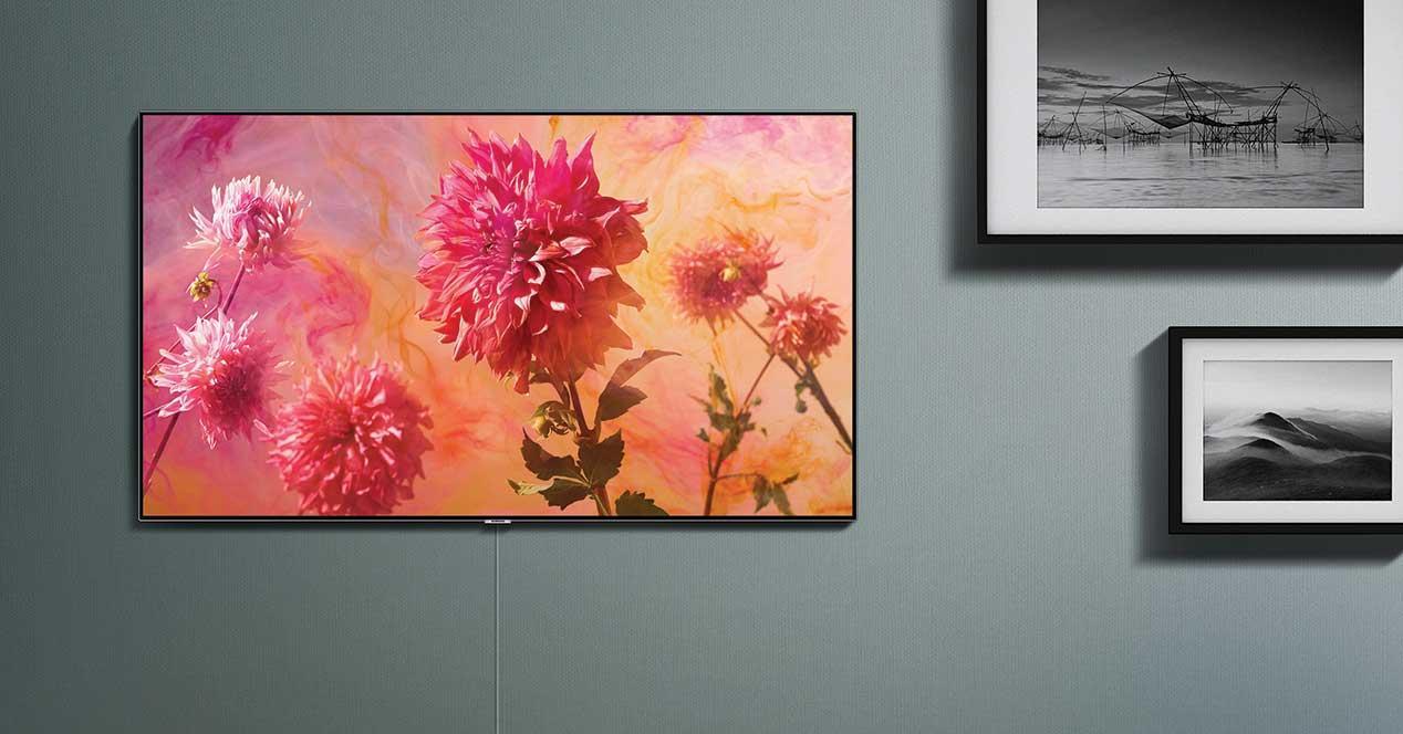 samsung qled 2018 pared