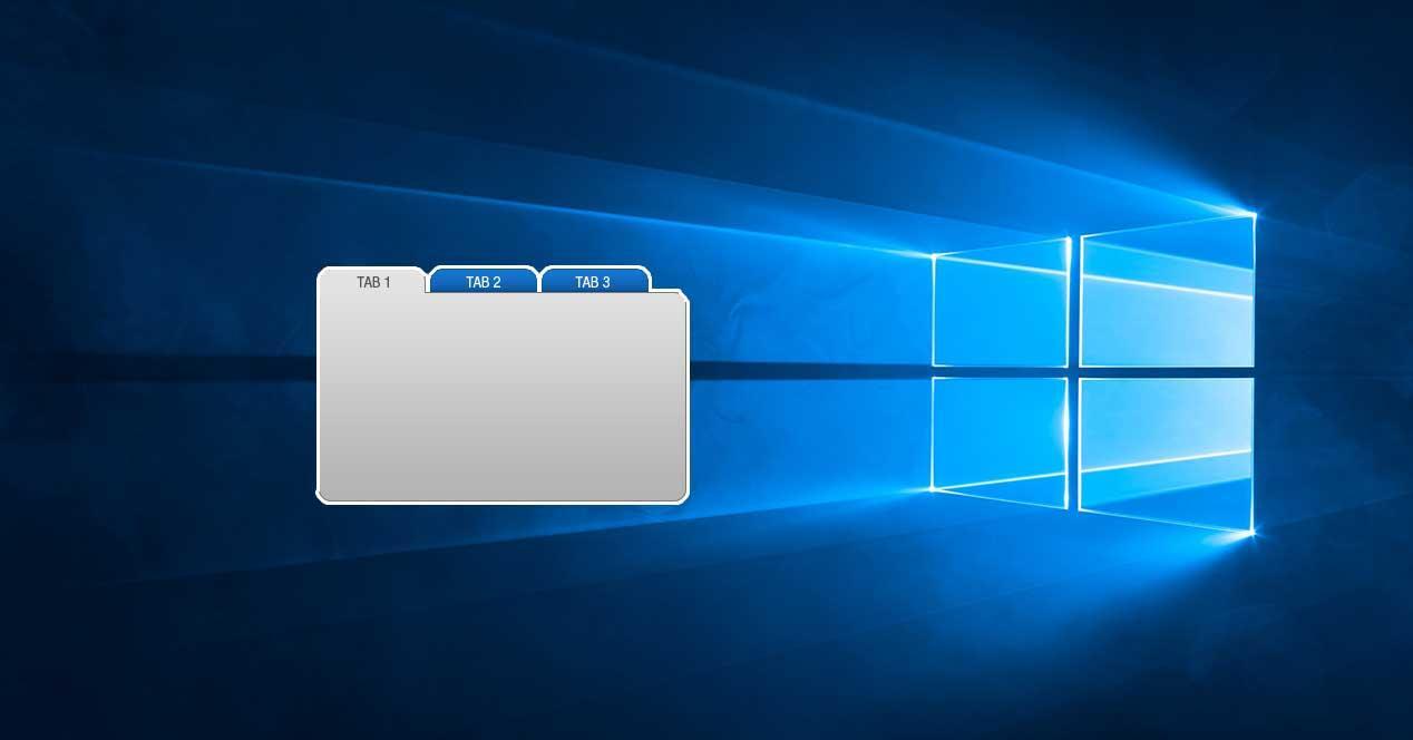 windows 10 pestañas