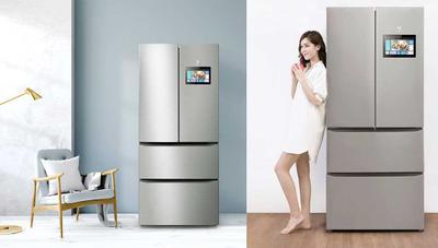 Xiaomi lanza un frigorífico con pantalla de 10 pulgadas y control con el móvil