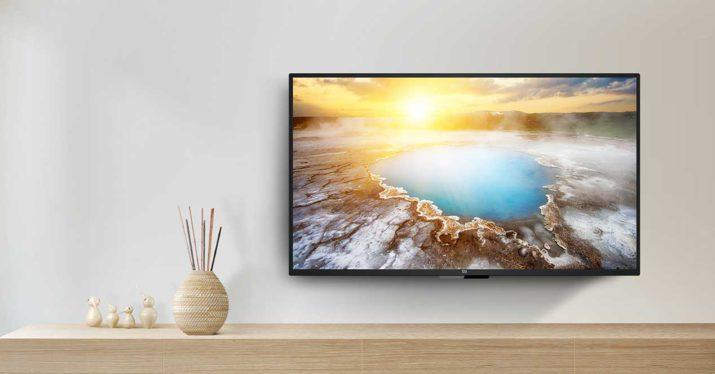 xiaomi mi tv 4a 40 pulgadas pared