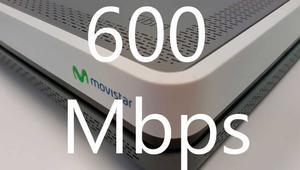 La duplicación de velocidad de Movistar a 600 Mbps ya tiene fecha. Todos los detalles