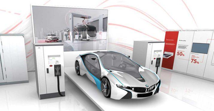 abb cargador coches electricos 350 kw