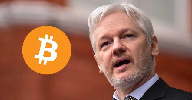 assange wikileaks coinbase bitcoin