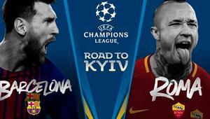 Cómo ver en directo el Barcelona – Roma de Champions por televisión, Internet o el móvil