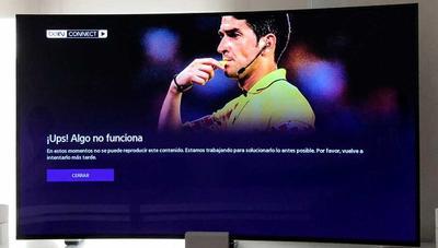 Lamentable funcionamiento de beIN Connect en 4K durante el Real Madrid vs Atlético