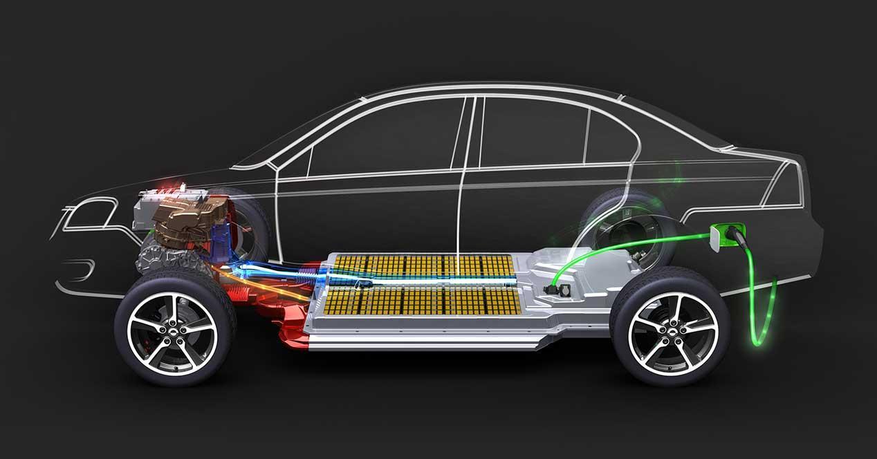 coche electrico bateria